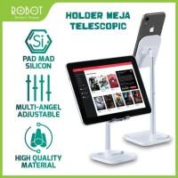 ROBOT Aluminium Holder Meja HP Tablet Stand di Handphone iPad RT-US04