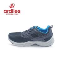 Ardiles Men Fordate Sepatu Running - Abu Tua Biru