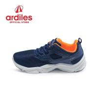 Ardiles Men Fordate Sepatu Running - Biru Navy
