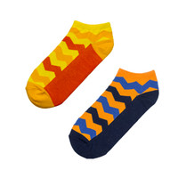 [Bundle] Socky Zigzag Set- 2 Pasang Kaos Kaki
