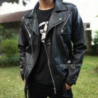 Jaket Semi Kulit Rocker Ramones | Rock And Roll