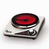 OXONE kompor listrik single ceramic OX 655S - portable stove 1 tungku