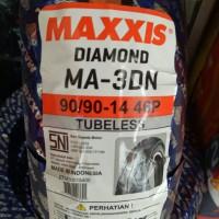 BAN MAXXIS DIAMOND MA-3DN 90/90-14 MIO VARIO BEAT M3 XEON TUBELESS