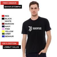 Kaos Distro Juventus Logo Baru / Kaos Juventus Logo Baru Cotton Combed