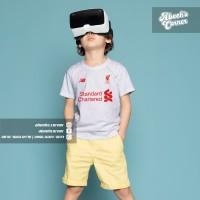 Baju Kaos Anak Liverpool - Baju Bola Barca - Kaos Liverpool