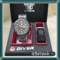 Jam Tangan Pria Seiko Diver 4062 Free Tali + Box