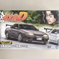 Aoshima 1/24 Initial D Rin Hojyo BNR32 Skyline GT-R