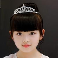 Mahkota Anak Tiara Crown untuk Pesta Aksesoris Rambut Cantik