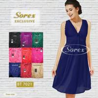 Baju tidur sexsi // lingerie bahan satin dari sorex BT 7021
