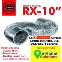 Alumunium Flexible ducting 10 inch
