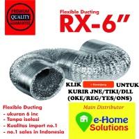 Alumunium flexible ducting 6 inch 5 meter