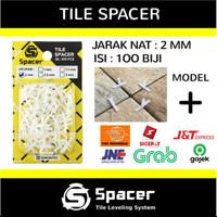 TERMURAH Tile Spacer 1mm; 1,5mm; 2mm Utk Keramik dan Granite