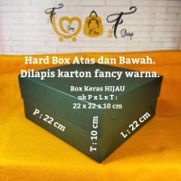 Box Kotak Kue Hampers Gift Box Hijau