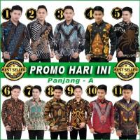 [PROMO HARI INI] Kemeja Batik Pria TERMURAH katun HQ M L XL XXL