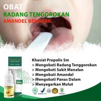 Obat Radang Tenggorokan, Sakit Menelan, Amandel | Propolis SM ASLI