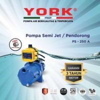 YORK PS 250 A pompa aor semi jet otomatis apc yrk 01