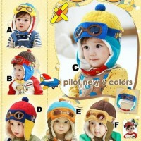 BABY PILOT HAT topi bayi kupluk tebal hangat musim dingin anak balita