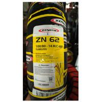 Ban Luar Zeneos ZN 62 Uk 100 / 80 -14 TUBLESS untuk matic