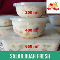 Salad Buah Cup Segar, Nikmat dan Enak Di Bekasi Ukuran M 400ml
