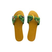 Havaianas You St Tropez Fc 7609-Burned Yellow - Sandal Wanita - Kuning, 37-38