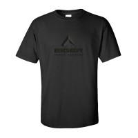 T shirt Baju Kaos Distro Hitam Eiger Tropical Adventure FJ1221
