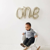 One Link Foil Balon/Baby Shower/Balon Dekorasi