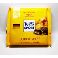 RITTER SPORT CHOCOLATE CORN FLAKE 100GR