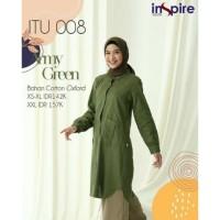 BAJU ATASAN Blouse Wanita Muslimah Blus Kerja Kantor ITU 008 Inspire