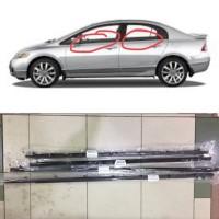 Pelipit Karet Kaca Pintu Luar Honda Civic FD 2006 - 2012 fullset