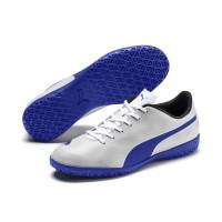Sepatu Futsal PUMA Rapido IT Blue White 104799 06
