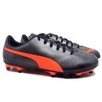 Sepatu Bola PUMA Rapido FG Black Red 104798 05