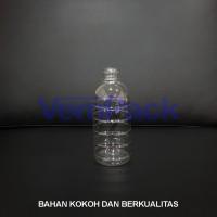 Botol Plastik Bulat 500 ml Air Mineral PET long neck