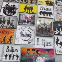 The Beatles Aksesoris Stiker Terbaru untuk Motor Gitar Mobil Gadget Dl