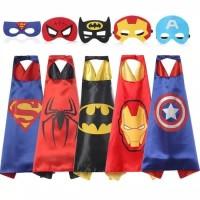 baju kostum Jubah topeng superhero anak batman spiderman superman
