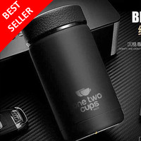 Thermos Air Panas Mini Termos Botol Minum Tumbler Stainless 400ml