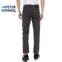 HIPSTER celana chino panjang pria model stardar basic warna abu tua