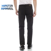 HIPSTER celana chino panjang pria model stardar basic warna hitam