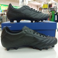 sepatu sapatu bola football soccer mizuno morelia II 2 club hitam ori