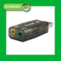 Sound Card 3D Adapter USB 5.1 Channel External Soundcard Audio - Black
