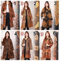 SB Collection PROMO TUNIK BATIK Rea Blouse Lengan Panjang Wanita
