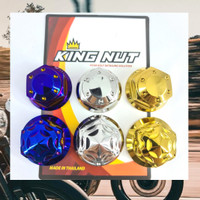 Mur Segitiga Komstir Satria Fu Raider Probolt Stainless King Nut Thai