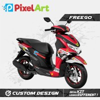 STICKER DECAL MOTOR YAMAHA FREEGO FULL BODY