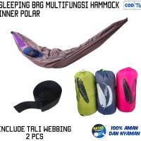 sleeping bag hammock sleepmock inner polar ayunan gantung