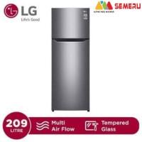 LG Kulkas 2 Pintu Smart Inverter Compressor GN-B215 SQMT