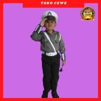 TERLARISS!! Baju polisi anak setelan komplit / seragam polisi anak