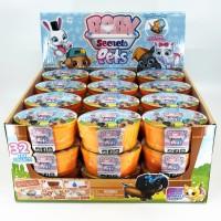 Baby Secrets Pets Surprise Pet Pack 32 Secret Mainan Anak Surprise Egg