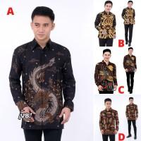 Batik   Batik Pria   Kemeja Batik Wayang OR Batik Wayang Motif Naga