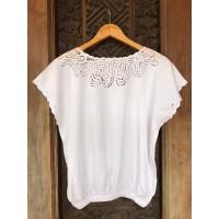 Baju atasan top wanita bordir lace handmade bali