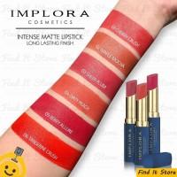 Implora Intense Matte Lipstick Long Lasting Finish Lipstik Mate BPOM