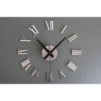 Jam Dinding Raksasa Besar 3D Giant Clock Angka Romawi Diameter 60cm